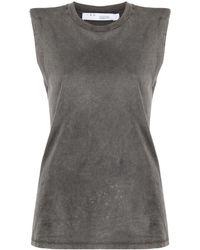 IRO Round Neck Vest - Grey