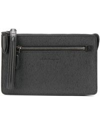 Ferragamo Revival Clutch - Black