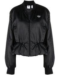 adidas Drawstring Bomber Jacket - Black