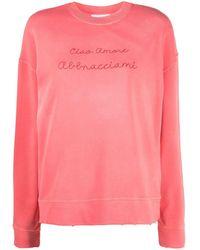 Giada Benincasa - Slogan-print Sweatshirt - Lyst