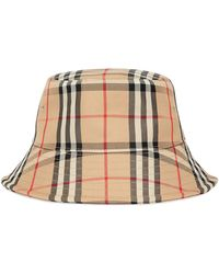 Burberry Vintage Check Bucket Hat - Multicolor
