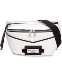Givenchy Logo Patch Belt Bag - White