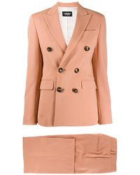 DSquared² Lady Oscar Trouser Suit - Pink