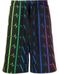 Valentino - Vltn Times Bermuda Shorts - Lyst