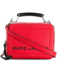 Marc Jacobs The Box 20 Shoulder Bag - Red