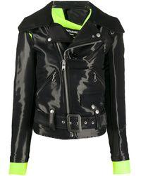 Junya Watanabe Fitted Biker Jacket - Black