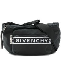 Givenchy Black And White 4g Bum Bag