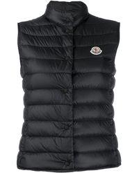 Moncler Liane Puffer Gilet Jacket - Black