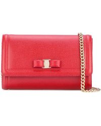 Ferragamo - Vara Bow Mini Bag - Lyst