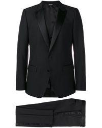 Dolce & Gabbana Three-piece Dinner Suit - Black