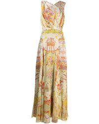 Etro Multi-print Maxi Dress - Multicolour