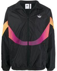 adidas Sprt Supersport Woven Track Jacket - Black