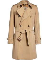 Burberry The Chelsea Heritage Trench Coat - Natural