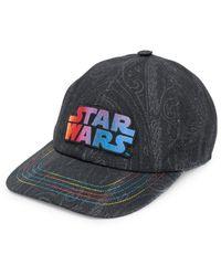 Etro Star Wars Slogan Cap - Black