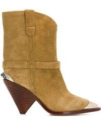 Isabel Marant Lamsy Boots - Multicolour