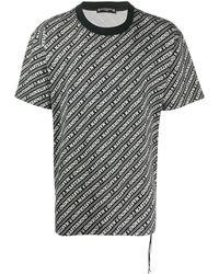 MASTERMIND WORLD Logo-print T-shirt - Black