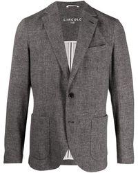 Circolo 1901 Patterned Blazer - Black