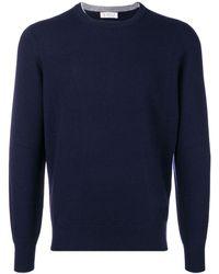 Brunello Cucinelli - Sweaters Blue - Lyst