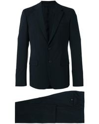 Prada - Notched Lapel Suit - Men - Spandex/elastane/cupro/wool - 52 - Black
