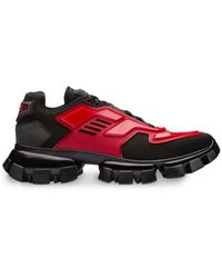Prada Cloudbust Thunder Sneakers - Red