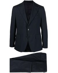 Gabriele Pasini Single-breasted Three-piece Suit - Blue