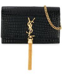 Saint Laurent Kate Monogram Tassel Bag