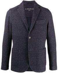 Circolo 1901 Single-breasted Blazer - Blue