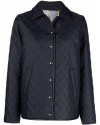 Ferragamo Reversible Single-breasted Jacket - Blue