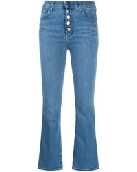 J Brand Lillie Denim Jeans - Blue