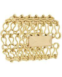 Ellery - Chain-link Cuff Bracelet - Lyst