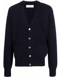 Extreme Cashmere Feike Fine-knit Cardigan - Blue