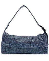 Benedetta Bruzziches Buckle-detail Shoulder Bag - Blue