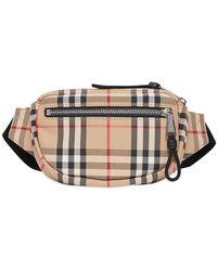 Burberry Mini Check Bum Bag - Multicolour