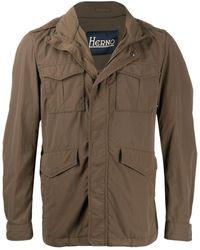 Herno Short Field Jacket - Green