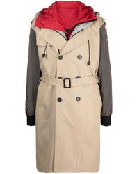 DSquared² Layered Trench Coat - Natural