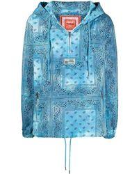 Alchemist Bandana-print Lightweight Jacket - Blue