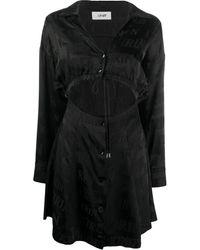 Kirin Tie-fastening Detail Dress - Black