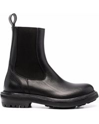 Buttero Leather Ankle Boots - Black