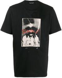 Neil Barrett Subway Print T-shirt - Black