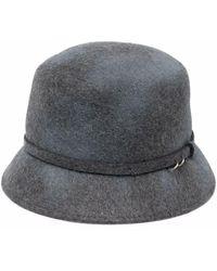 Catarzi Wool Felt Hat - Gray