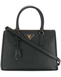 Prada Bibliotheque Large Tote Bag - Black