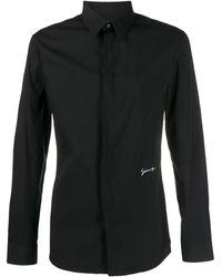 Givenchy Logo Embroidered Shirt - Black