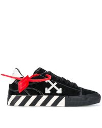 Off-White c/o Virgil Abloh Arrow Vulcanized Low-top Trainers - Black