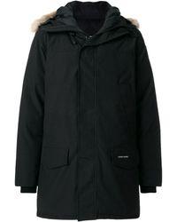 Canada Goose Langford Parka Coat - Black