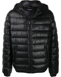 Dolce & Gabbana Padded Down Jacket - Black