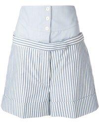 Thom Browne Boxer Yoke Mini Short - Blue