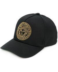 Versace Beaded Baseball Cap - Black