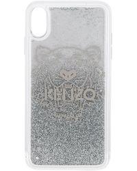 KENZO Iphone X Plus Tiger Head Case - White