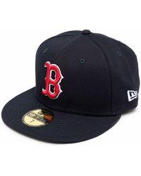 KTZ Boston Red Sox Flat Cap - Blue