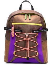 Etro Paisley-print Lace Backpack - Brown